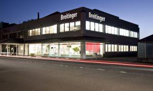 Breitinger Gebäude Nachts